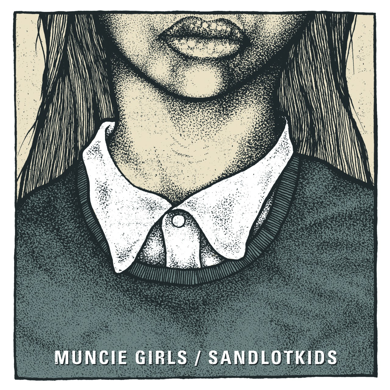 Muncie Girls / Sandlotkids – Split 7″