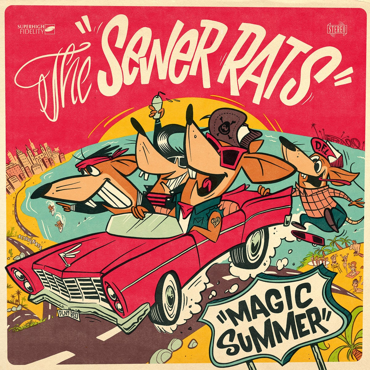 The Sewer Rats – Magic Summer